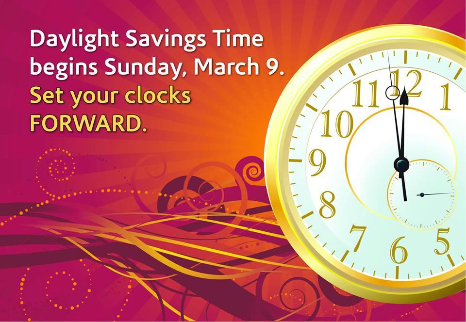 2014 daylight savings time dates
